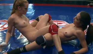Brunette Denisa Heaven gives Playful Anns pussy crevice a have in lesbian act out