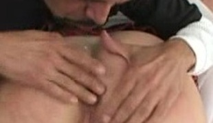 Amazing overweight doll back generous mangos gets a facial after being drilled hardcore lounge