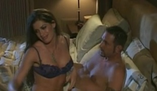Magnificent porn highly priced Aria gets gangbanged just about a hot cumshot