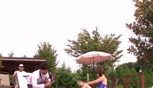 Rina Rukawa in Sports Dress Charming Girl part 1.2
