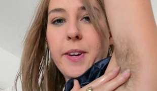 Aali Rousseau in Masturbation Movie - ATKHairy