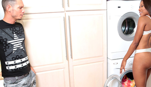 Tyler Steel & Indigo Vanity in Cleaning butt - RoundAndBrown