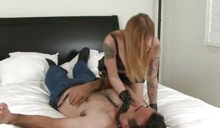 Handful days after Jezebel supreme shampooing this house, Scarlett Pang is not roundabout lifelike and she craves like masturbating. Her daddy comes along and fists this virgins addictive twat with this mammoth dork