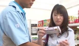 Asian hardcore molestation of a young innocent schoolgirl