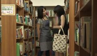 Library Lesbians Get Horny - TeensOfTokyo