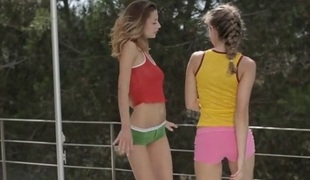 WowGirls Video: Dancing In Siesta