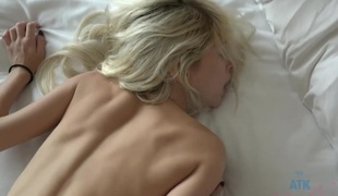 Piper Perri in A little ass grabbing in the morning gets her horny for a creampie - ATKGirlfriends