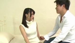 Hottest Japanese girl Sena Mizuki in Incredible masturbation, college JAV video