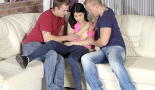 SpoiledVirgins - Spoiled virgins member Jody loses her virginity in a threesome