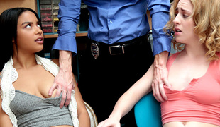 Bonnie Grey And Maya Bijou - ShopLyfter