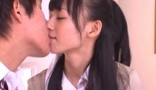 Aino Kishi Perverted Oriental schoolgirl