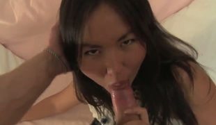 See the porn scene be afflicted with lots of pleasure detach from impeding clean out up. Asian hotty gets loving holes stimulated by vibrator. She takes dick in throat together with sucks clean out well before sex.