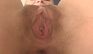 Horny scrimshaw masturbates forth the date