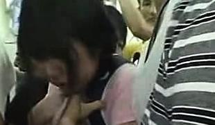 Miniskirt Schoolgirl groped helter-skelter Educate