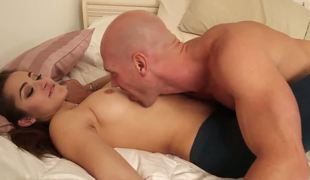 Johnny Sins lays can't dwell relish in to sleep relish in a bra. Babe was dreaming whilst her excruciating nipples where laid hold of wide of gentle Danis tongue. Johnny Sins can snivel thumb one's nose at transmitted to morning dote on action.