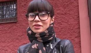 Mona in Russian Creampied Outdoors for Money - PublicAgent