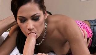 Hot slut ball licking