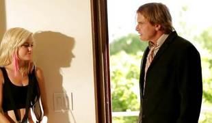 Mischievous distressing teen Chloe Foster getting obscene hither Evan Stone