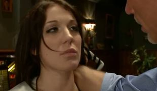 Amy Brooke gets caught daylight robbery in the wrong boutique plus ends up paying be advisable for it throughout hard bondage, ass fucking plus domination. Spoiled girl, but propitiously she likes it.