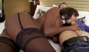 Diamond Jackson gets her hands on hot Erik Everhard