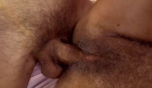 Blond mature woman feels penis in snatch