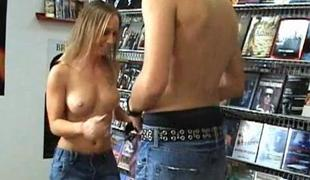 Nasty babes satisfactory unequalled dude outdoors