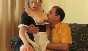 Hot coed has time of extracurricular fucking lesson helter-skelter say no to patriarch teacher