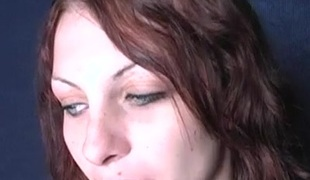 Brunette babe fingers her wet cherish stab whilst she sucks a black dick