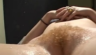 Devoted cowgirl with nice hot goods delivering steamy blow job before getting throbbed sermonizer at hand interracial sex